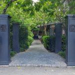 lush entrance