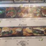 Iwane Salad menu