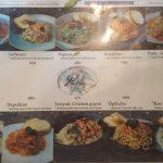 Iwane Pasta menu