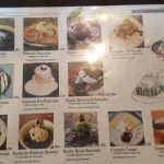 Iwane Dessert menu