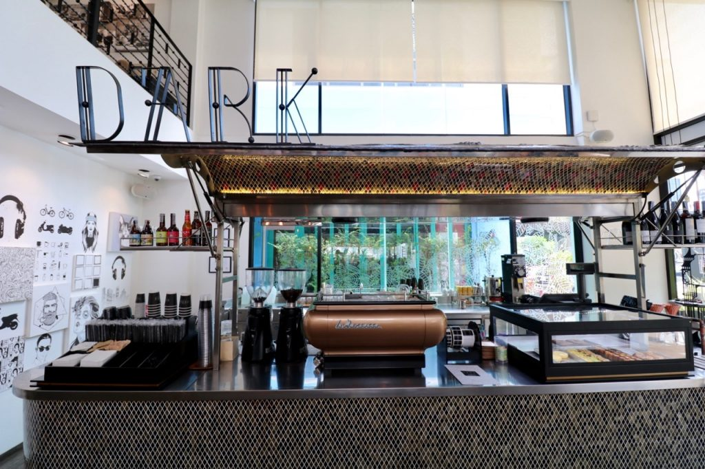 D'Ark coffee counter