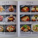 Menu of D'Ark