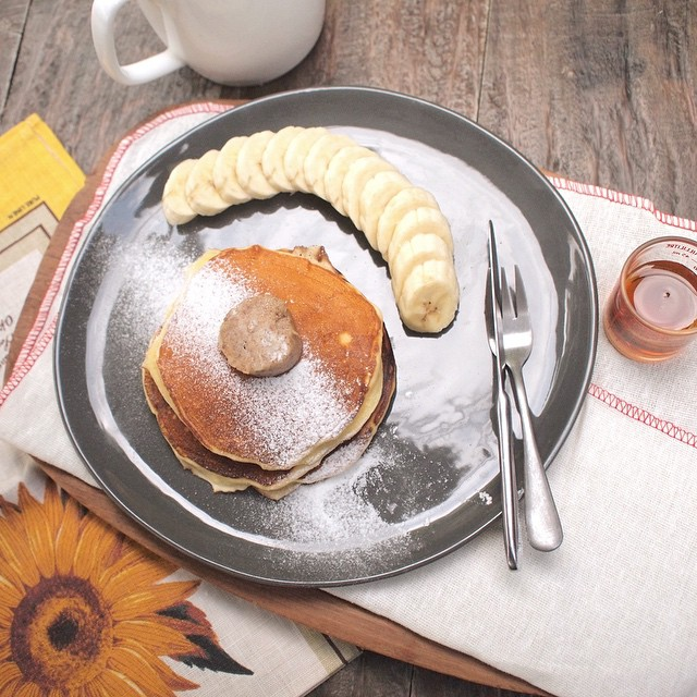 Fluffy scrummy pancake