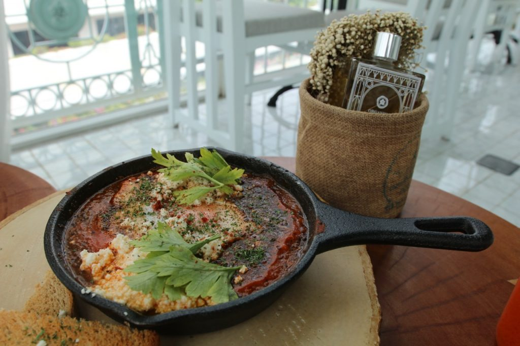 Organika's Shakshuka - good taste, but too small