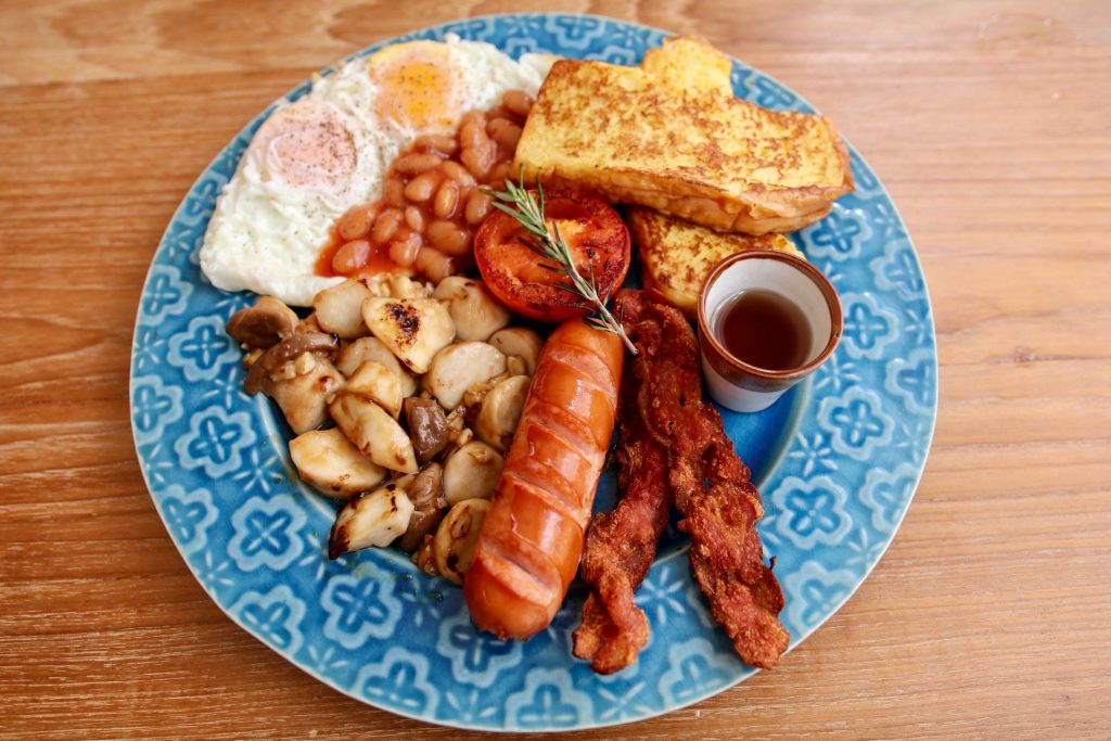 big breakfast set