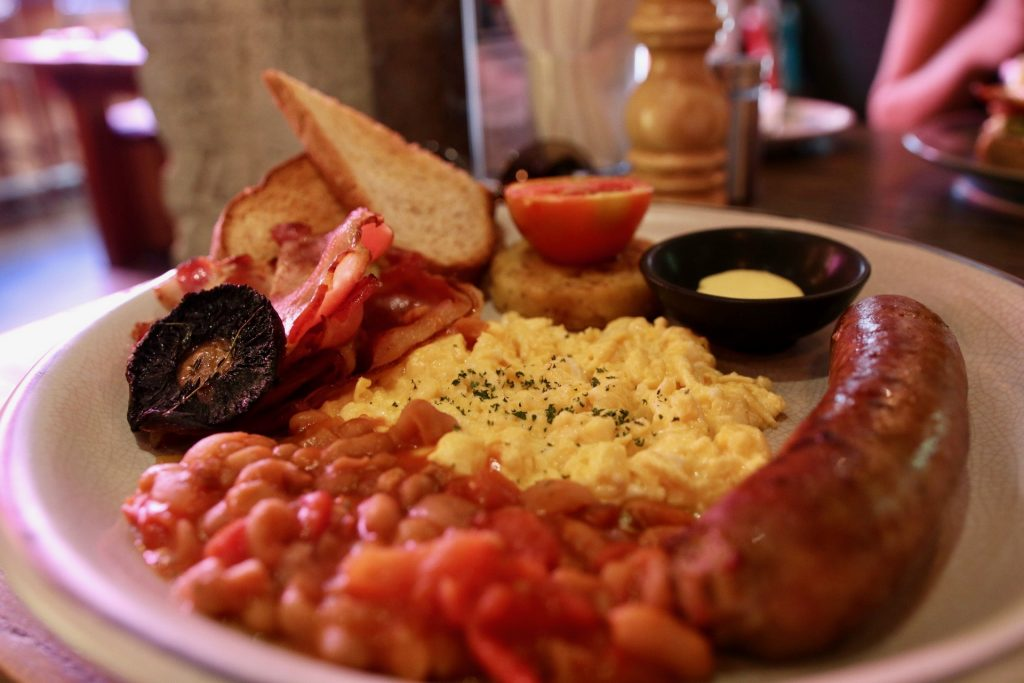 big breakfast set