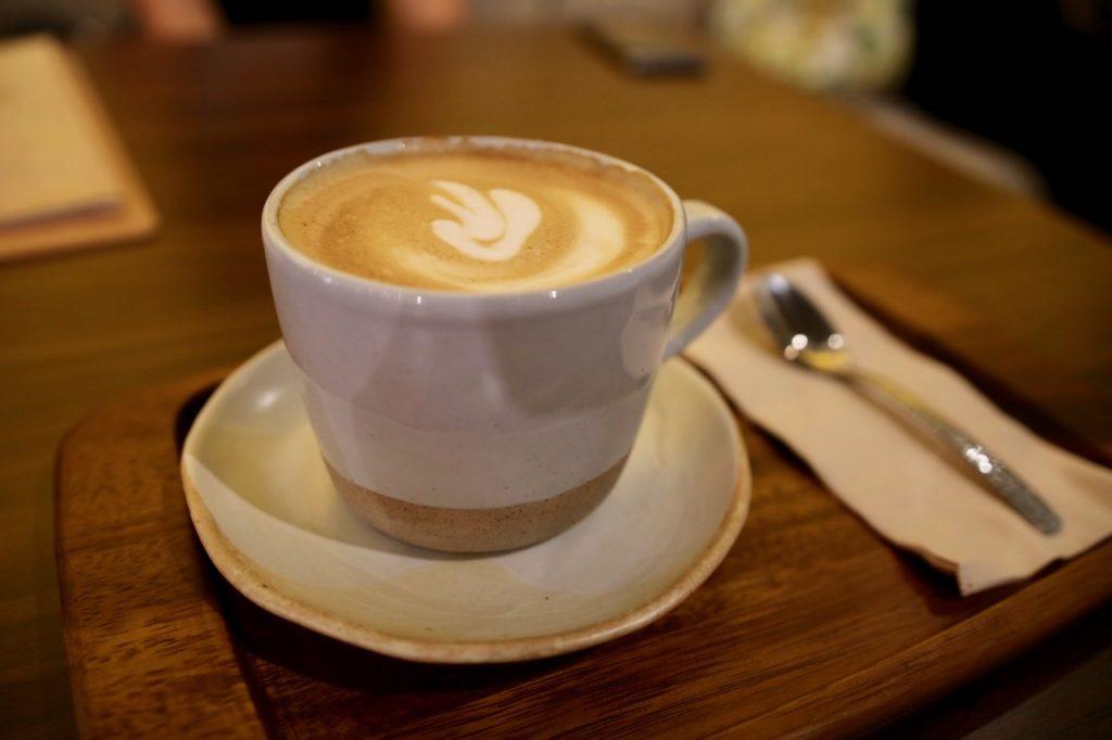 lazy goose hot latte