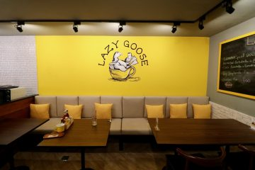 lazy goose seating area